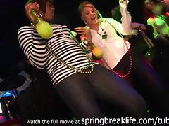 SpringBreakLife Video: Club Flashing