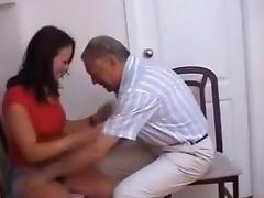 old older man nailed a  immature beauty