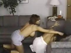 Retro Busty Catfight