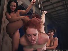 Francesca Le in lesbian BDSM