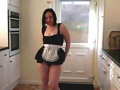 Danceing Maid Striptease