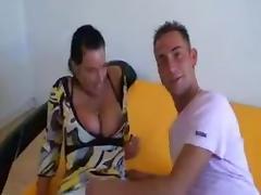 Busty nurse cheating on her boyfriend