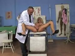 slender milf get fucked by her doctor