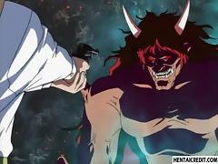 Hentai babe monster fucked
