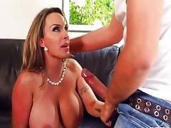 big tits at work - holly halston