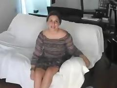 yummy brunette rammed hardcore in a casting