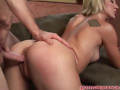 Amy Brooke Gets Pounded To Swallow Jizz