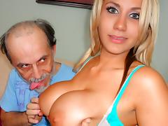 Alanah Rae in Dirty Old Man Lucks Out - PornPros Video