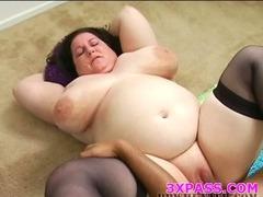 Black chubby bitch fucked