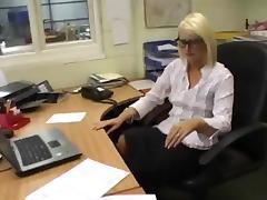 Boss Office Stocking Sluts