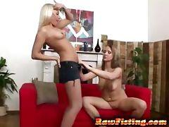 hotties having fisting sex