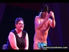 Amateur male stripper