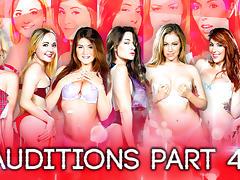 Cassidy Klein, Eva Lovia, Harlow Harrison, Hope Howellin Season 2 - Auditions Part 4 - DigitalPlayground