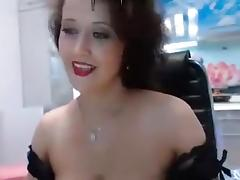 Catsuit fucks her pussy