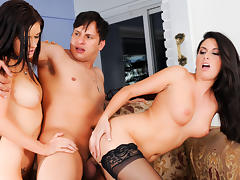 Nikki Daniels & Kendall Karson & Anthony Rosano in Mommy You And Me Make 3, Scene #02