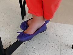 Sam   libby ballet shoeplay bare foot