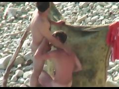 Hidden camera on the beach 8
