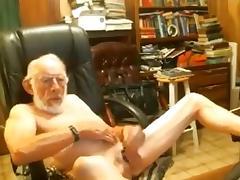 Grandpa Jerking and Wanking