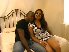 Fantastic british indian mature with black man