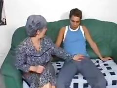 Granny Fucks Grandson