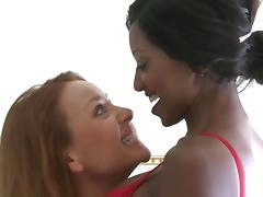 Janet Mason and Diamond Jackson Pussy Licking Porn