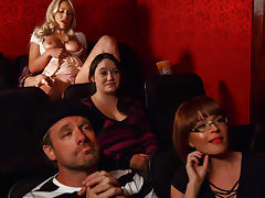 Krissy Lynn & Kylie Page & Alex D in Cinematic Climax - Brazzers