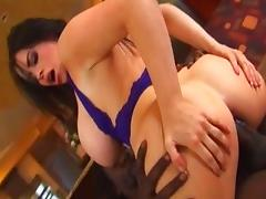 Incredible pornstar Daphne Rosen in hottest anal, interracial adult video