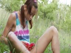 french Natashas back to nature