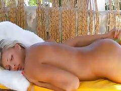 Amazing germanian girl toying asshole