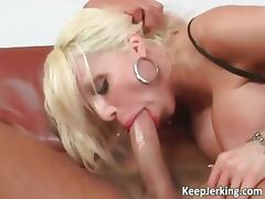 Busty blonde slut gets ass fucked hard part1