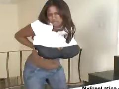 Dominican Miosotis Presenting Her Giant Melons latina cumshots latin swallow brazilian mexican spani