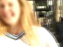Amateur Girl Getting Naked For Cash In Money Talks Stunt