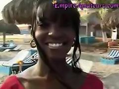 Hot Amateur Black Porn Teen Girl Fucked On Beach