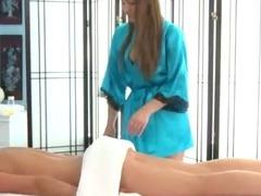 Hot fetish lesbian massage