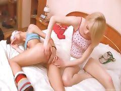latvian girl getting kinky with girl