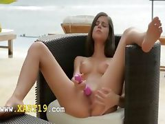 slovak tropical wibe and pussy fingering
