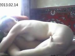 Russian Couple Homemade Mellow Fuck russian cumshots swallow