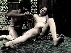 Blowjob and Anal Sex with Champagne 1960