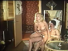 Old Man Fucks Younger Girl in Sauna and Room 1970