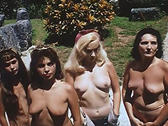 Nudist Colony Role playing Aliens and Astronauts 1960