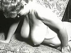 Delightful Pornstar Shakes Her Boobies 1950