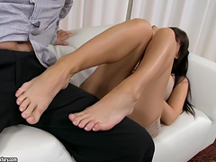Feet videos. Those indecent bastards are big fans of feet fetish and all those kinky scenes