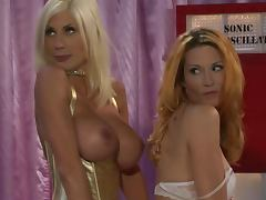 Pussy Licking and Strapon Fucking with Lesbians Jessica Drake and Puma Swede