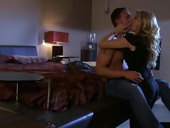 Vicious Blonde MILF Jessica Drake Fingers Her Ass While Getting Fucked