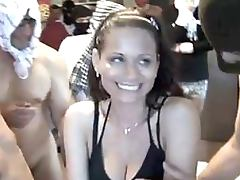 Cuckold Dude Lets His Smoking Hot Wife Get Gangbanged By Thirty Guys