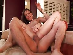 Amber Rayne gets butt holed by James Dean