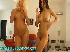 Gorgeous Czech girls lapdancing