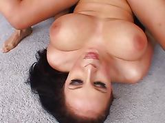 Gianna Michaels taking cum on her big tits