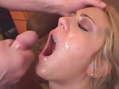 Trina Michaels getd hot tasty jizz in her mouth