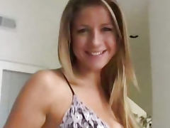 Always beautiful Monica Sweetheart squirting POV